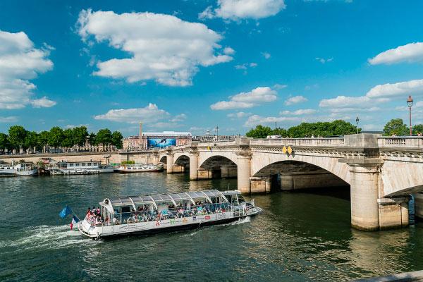 Река Сена.