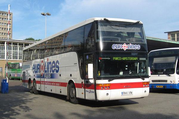 Автобусный превозчик Евролайнс.