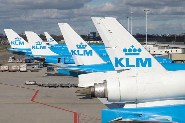 Самолёты авиакомпании КЛМ.