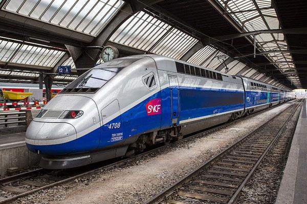 Как купить билеты на поезд из Парижа в Марсель.
