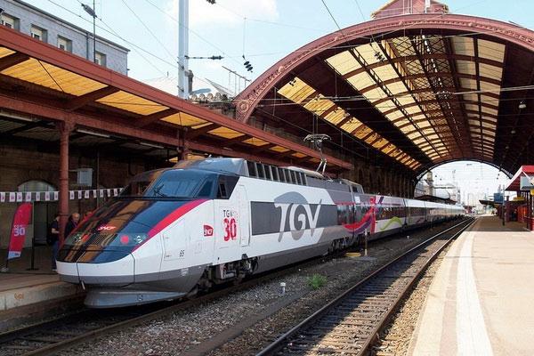 Вокзал Страсбурга.