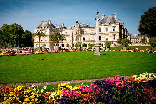 Люксембургский сад.