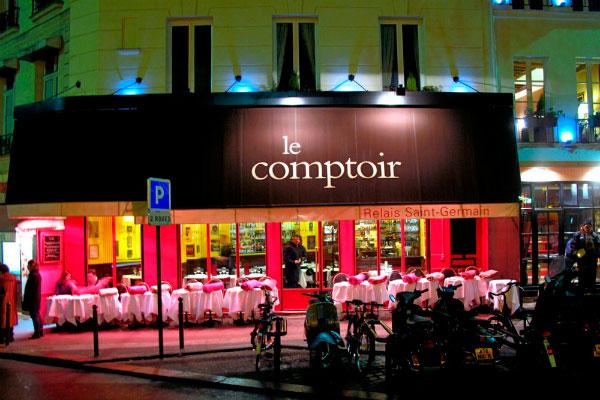 Ресторан Le Comptoir du Relais.