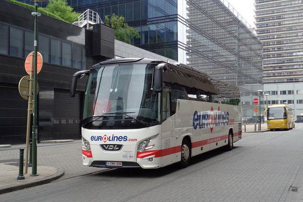 Как доехать из Бельгии во Францию на автобусе.