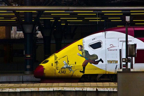 стоимость билетов на поезд от Парижа до Брюсселя и расписание.