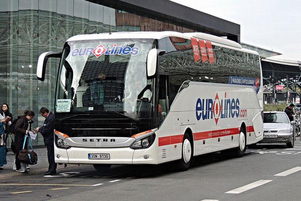 Междугородние автобусы во Франции.