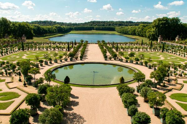 Сады Версаля.