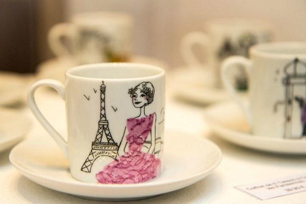 Кофейная чашка.