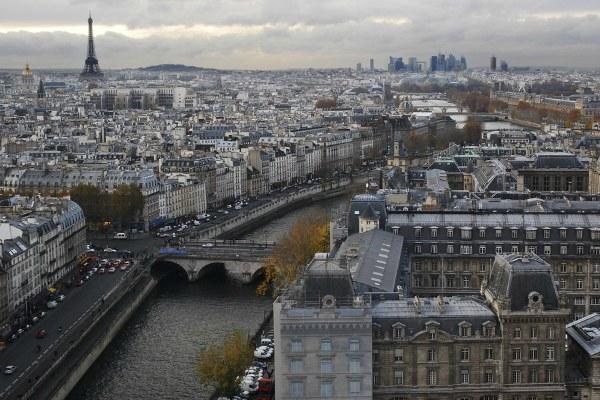 Париж осенью 2019 года.