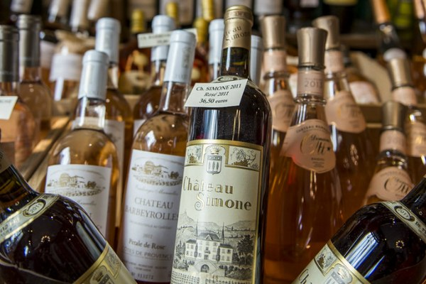 Французское вино.