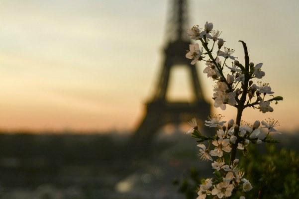 Март 2021 в Париже.