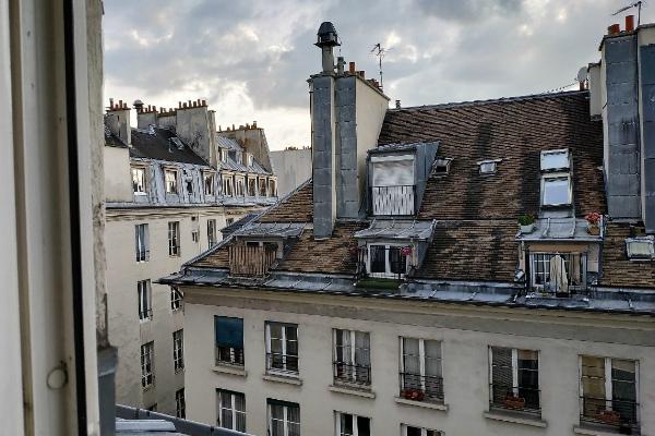 Вид из окна отеля Appi Hotel.