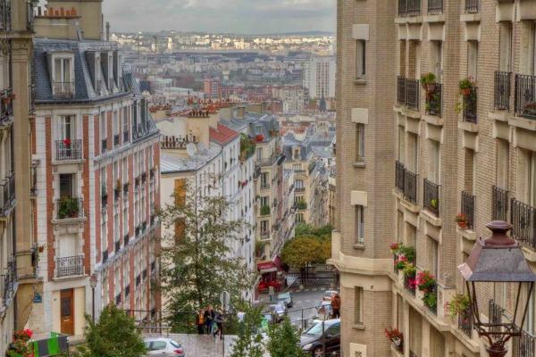 Прогулка по Парижу.