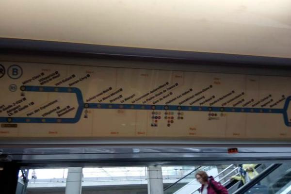 Поездка в метро.